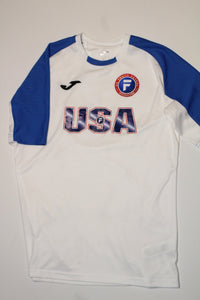 U.S. Youth Futsal  National Team Jersey - White and Blue