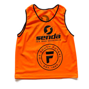USYF Logo Training Vests - 6 Pack