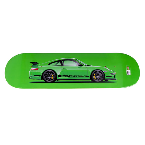 Porsche 997 GT3RS Skateboard Art Deck - RS Green