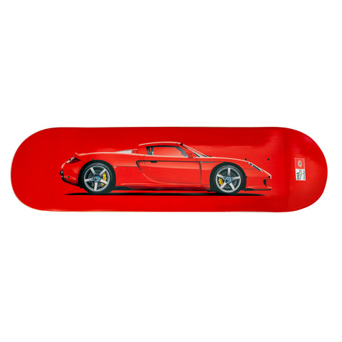 Porsche CGT Skateboard Art Deck - Guards Red