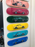 Porsche Skateboard Art Deck Big Ten Pack