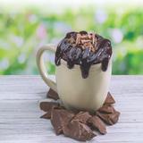 Ooey Gooey Chocolate Brownie Mug Cake Single