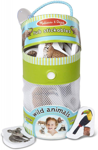 Tub Stickables: Wild Animals