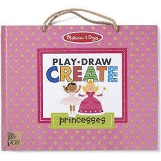 Draw, Create Reusable Drawing & Magnet Kit – Princesses