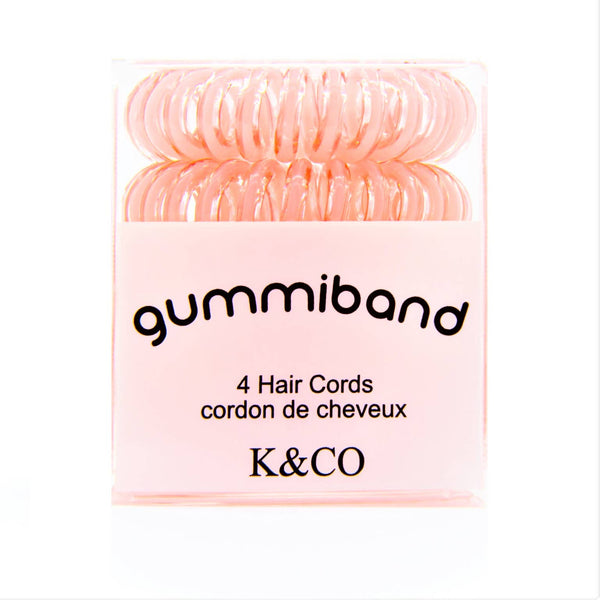 Gummiband Hair Cord - Pinky Promise