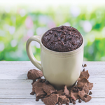 Double Chocolate Chip Brownie Mug Cake Single