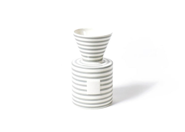 Stone Stripe Mini Vase
