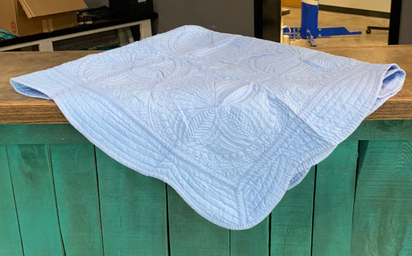 Baby Quilt- Blue
