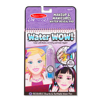 Water WOW! Makeup & Manicures- ON the GO Travel Activity