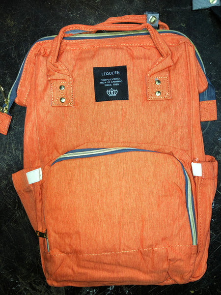 Diaper Backpack - Coral
