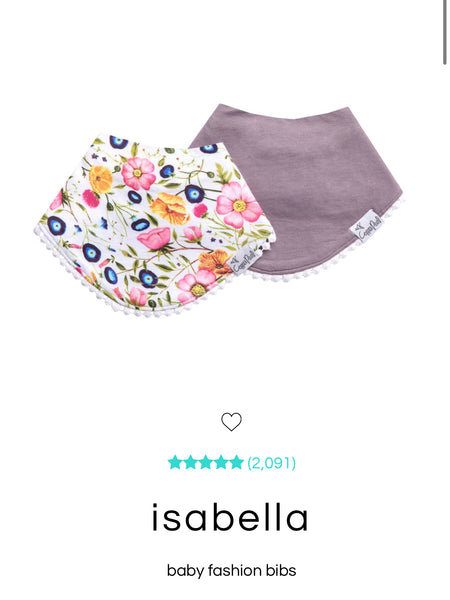 Fashion Bibs - Isabell