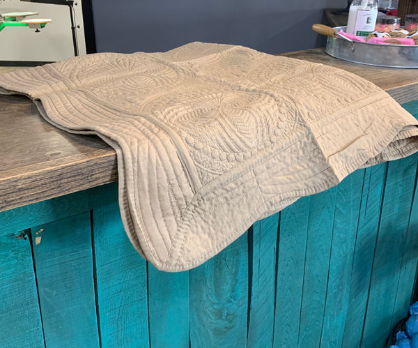 Baby Quilt- Camel
