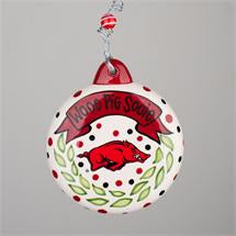 Glory Haus Arkansas Puff Ornament