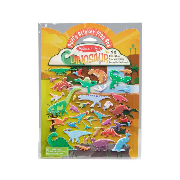 Puffy Sticker - Dinosaurs