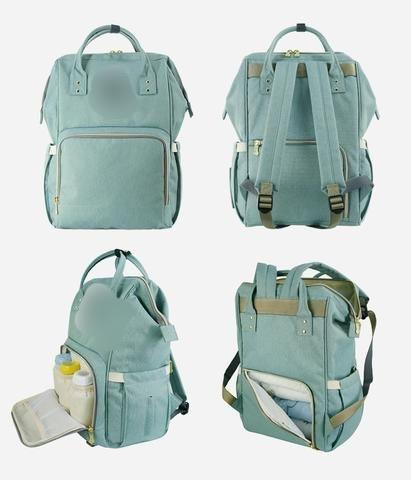 Diaper Backpack - mint