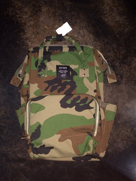Diaper Backpack - camo