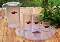 Bentley Collegiate University of Arkansas Drinkware – Red & Black Hog
