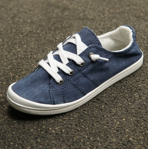 Chloe Canvas- Blue Denim
