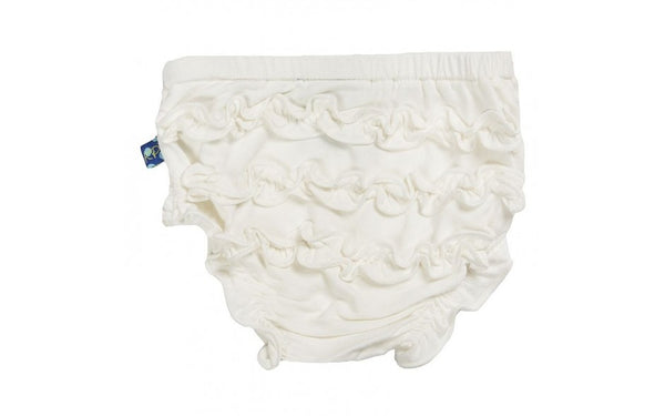 KICKEE PANTS BASIC BLOOMER NATURAL 12-18M