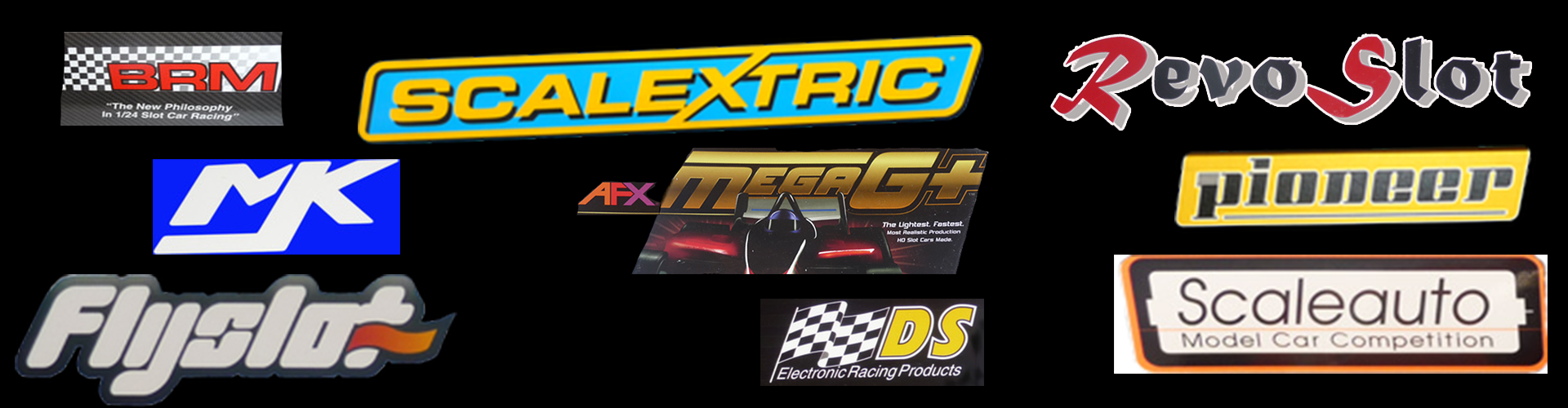 Brands that Flatoutslotcars keep