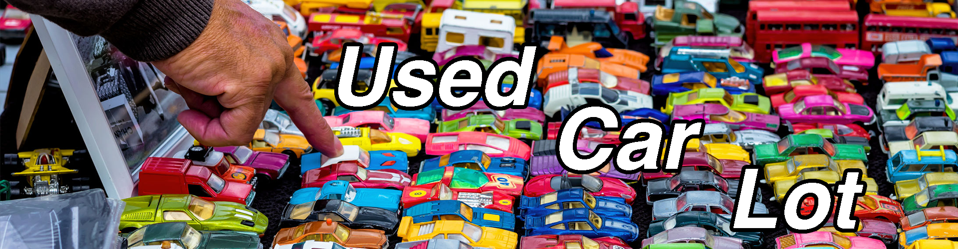 Used Car Lot at Flatoutslotcars.com.au