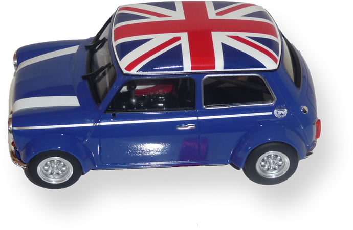 BRM 1:24 BRM096B - Mini Cooper - Blue Union Jack