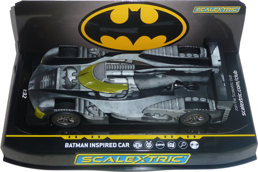 C4140 - Batman car - FlatoutSlotCars