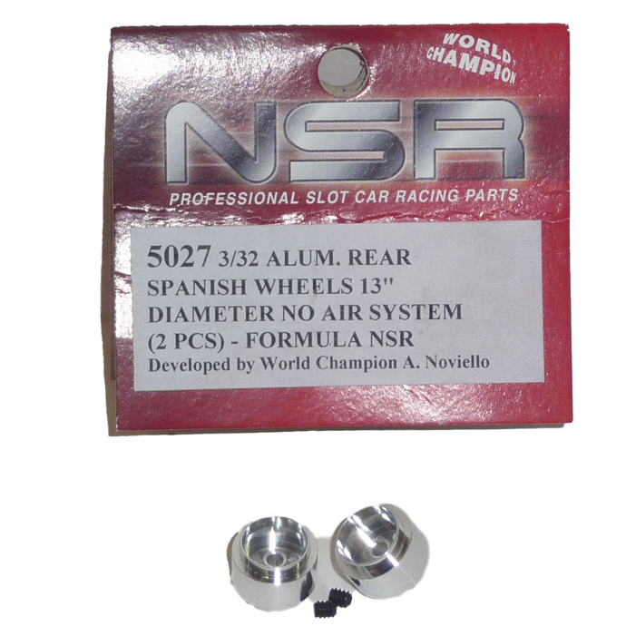 NSR 5027 Alum Rear  Rims 13