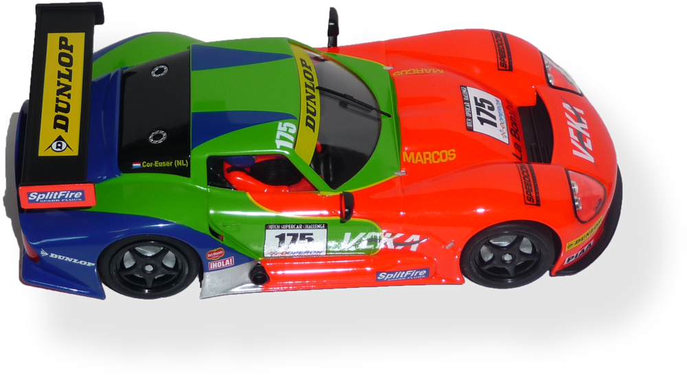Marcos LM600  RS0009 - FlatoutSlotCars