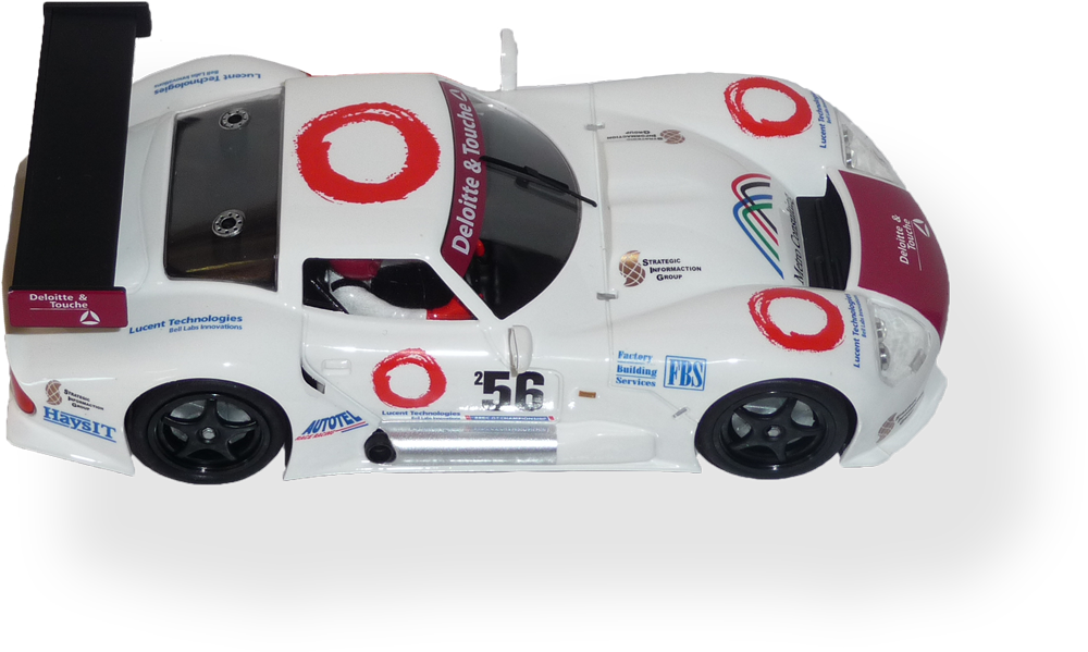 Marcos LM600  RS0010 - FlatoutSlotCars