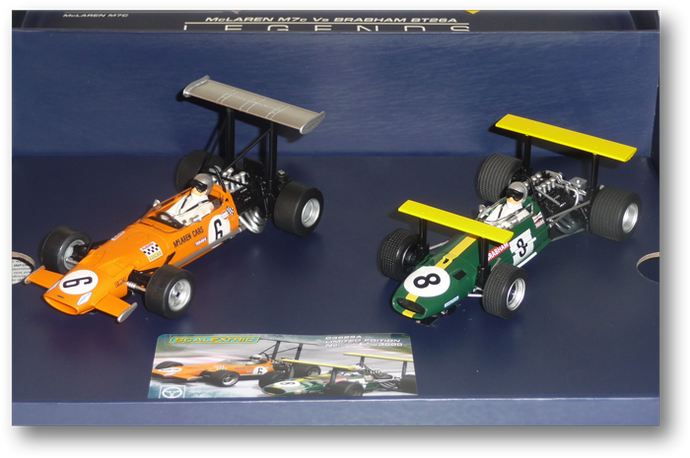 Winged Of Legends Limited Edition  #6 & #8 (C3589A) - FlatoutSlotCars