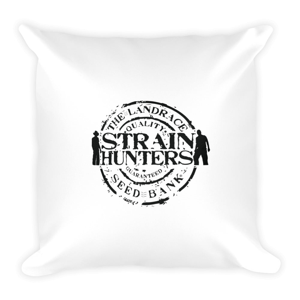 Square Strainhunter Seedf Bank Pillow