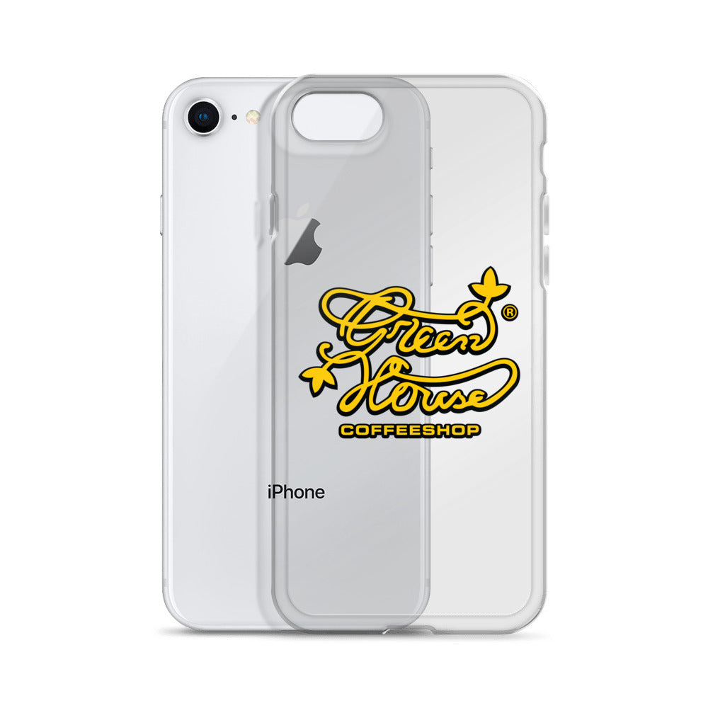 iPhone Case Greenhouse Coffee Shop Logo