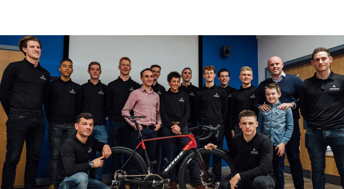 Vitus Pro Cycling Team, powered by Brother UK extends partnership with Smith Cooper