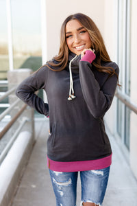 Charcoal & Berry Singlehood Sweatshirt