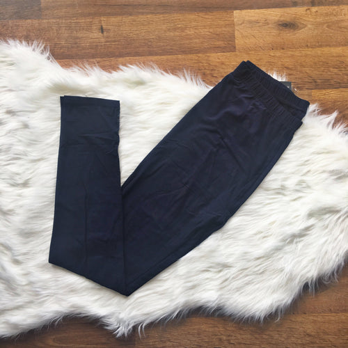 Navy Plus Leggings
