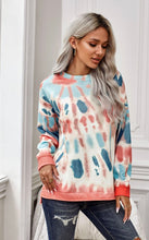 Load image into Gallery viewer, Tie Dye Side Slit Pullover