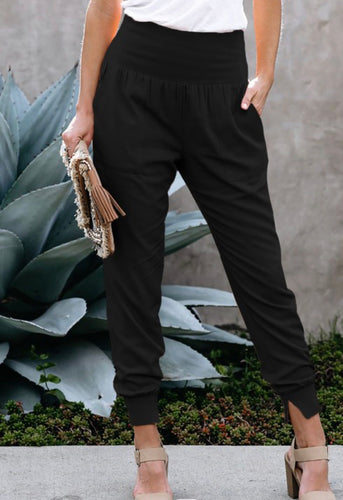 Pocketed Cotton Jogger