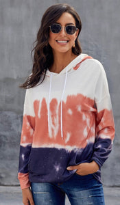 Gradient Long Sleeve Pullover