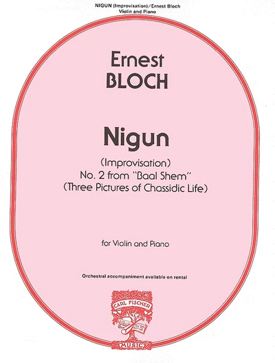Load image into Gallery viewer, Buy bloch nigun for Violin and Piano fischer | Simply for Strings