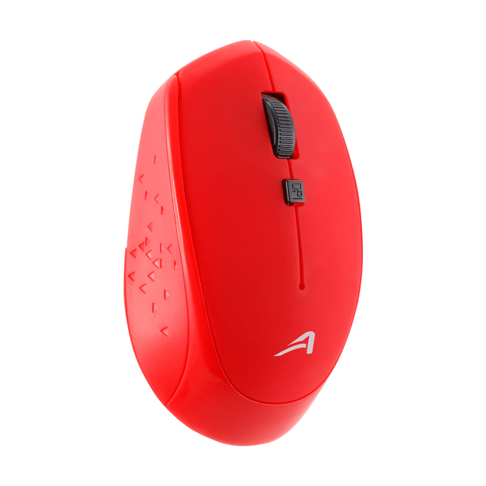 MOUSE INALÁMBRICO USB ROJO