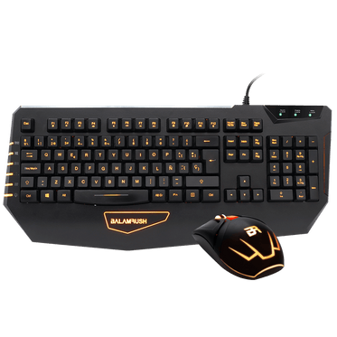 KIT TECLADO + MOUSE XOK ALAMBICO USB GAMING