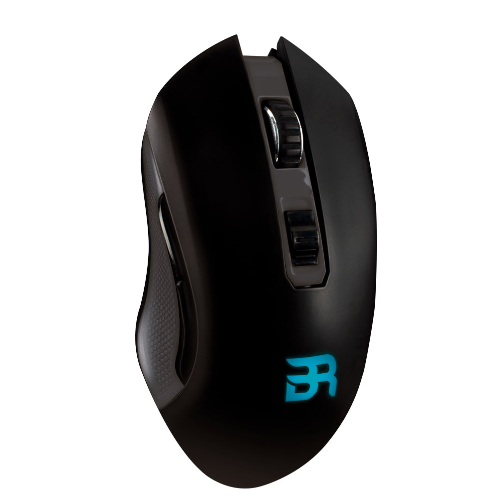 MOUSE GAMING INALÁMBRICO RECARGABLE RGB HIPERION