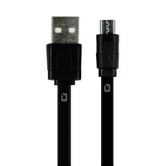KIT CARGADOR DE PARED CON CABLE MICRO USB JET BLACK MOBI FREE DEVICE