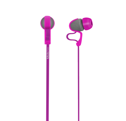 AUDIFONOS IN-EAR CON MICROFONO COLECCION URBAN KAOS LILA