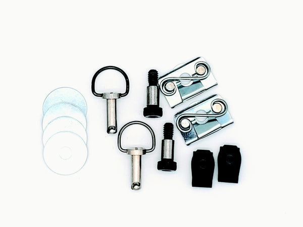 Secure Fit & Bail Head HD Bag Fasteners