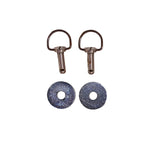 BAIL HEAD FASTENER W/WASHERS