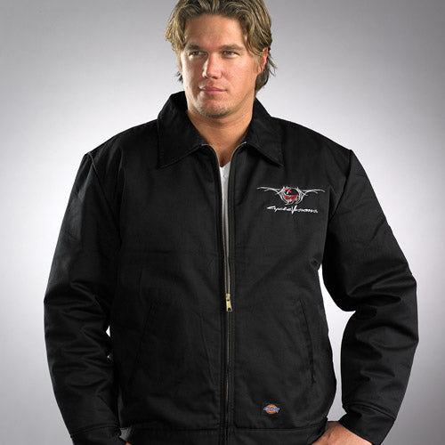 Lined Black Dickie Devil Jacket