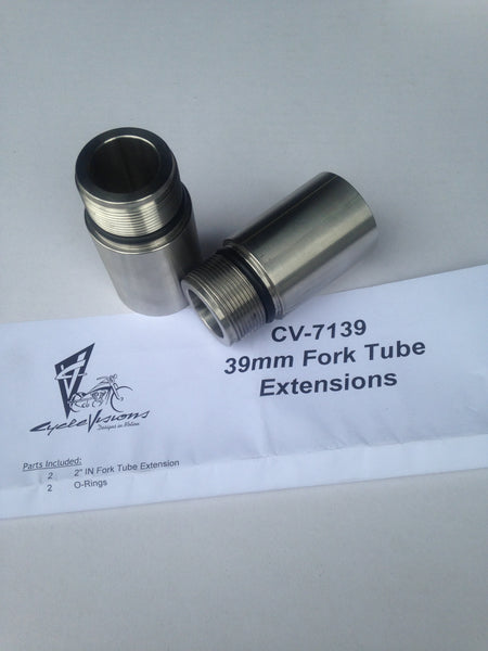 39mm Fork Tube Extension