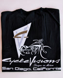 CycleVisions Logo T-Shirt (Black)